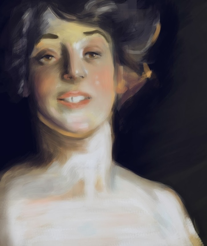 Sargent Master Study done for Noahs Art Camp
