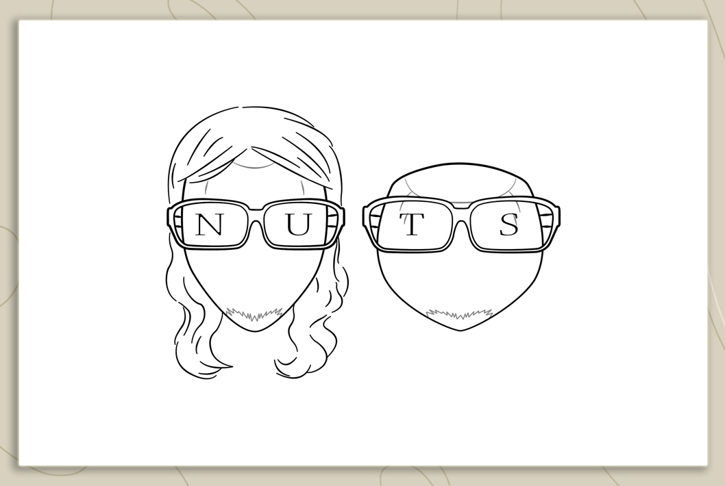 Nuts Business Card Design